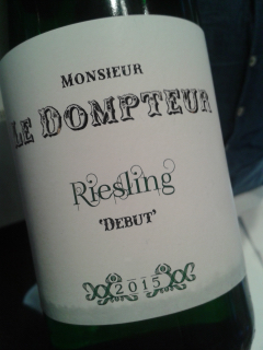 2015 Riesling Debut trocken, Monsieur le Dompteur