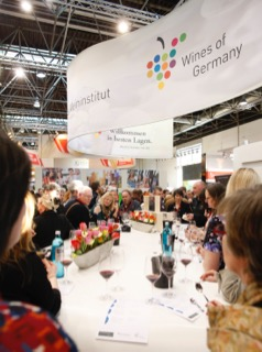 ProWein-Messestand Deutsches Weininstitut